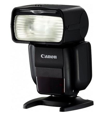 Canon blesk Speedlite 430 EX III RT + portrétní set + nabíječka s 4x AA 2450 mAh!