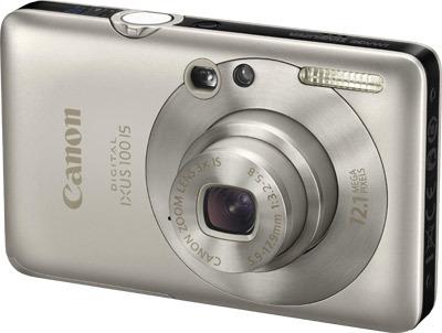 Canon IXUS 100 IS stříbrný