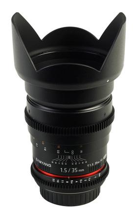 Samyang CINE 35mm T/1,5 VDSLR II pro Pentax