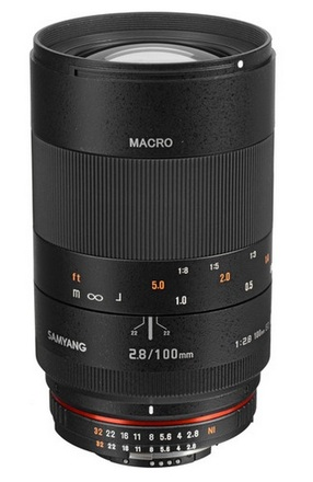 Samyang 100mm f/2,8 pro Canon