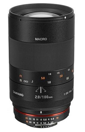 Samyang 100mm f/2,8 pro Nikon AE