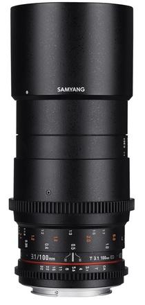 Samyang CINE 100mm T/3,1 VDSLR pro Canon