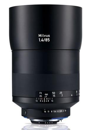 Zeiss Milvus 85mm f/1,4 ZF.2 pro Nikon
