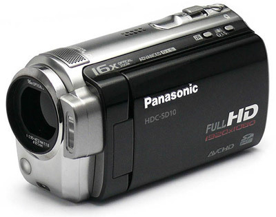 Panasonic HDC-SD10 černá + brašna DFV 42 zdarma!