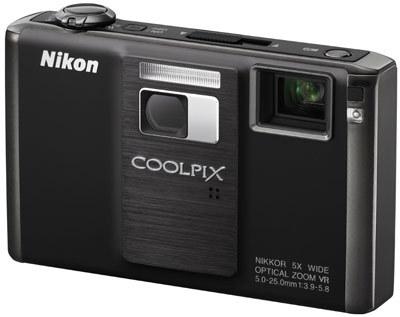 Nikon CoolPix S1000pj černý + originální pouzdro CS-S14 zdarma!