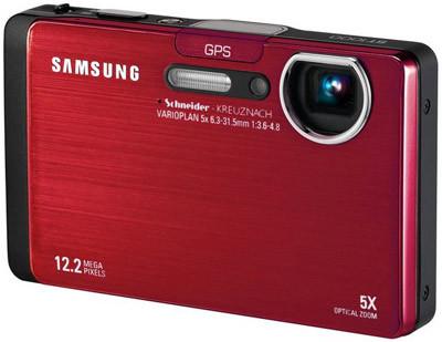 Samsung ST1000 červený