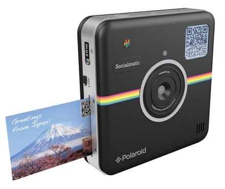 Polaroid Socialmatic Digital Instant Camera černý