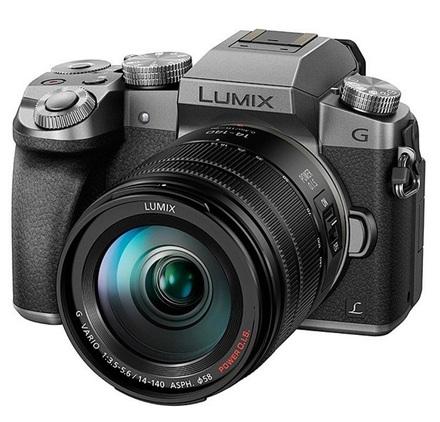 Panasonic Lumix DMC-G7 + 14-140 mm stříbrný