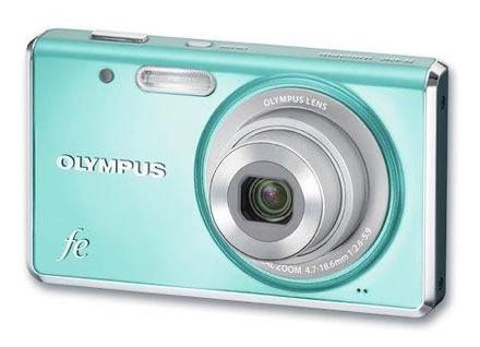 Olympus FE-4040 modrý