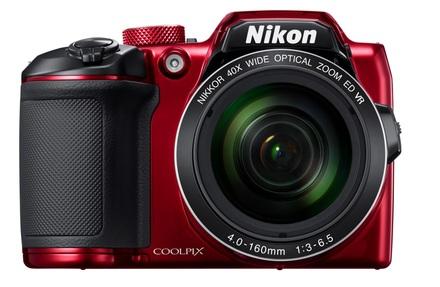 Nikon Coolpix B500 červený + 16GB karta + brašna TLZ 10 + ochrana LCD + poutko!