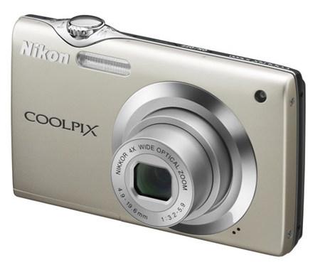 Nikon Coolpix S3000 stříbrný