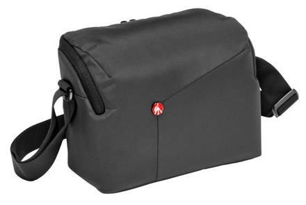 Manfrotto NX Shoulderbag DSLR šedá