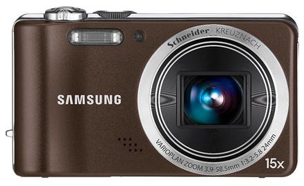 Samsung WB600 hnědý