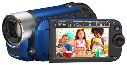Canon LEGRIA FS306 modrá