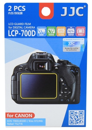 JJC ochranná folie LCD LCP-700D pro Canon EOS 650D a 700D