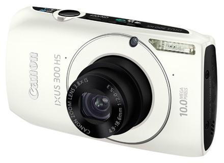 Canon IXUS 300 HS bílý