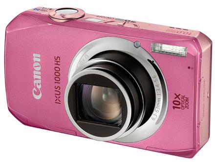Canon IXUS 1000 HS růžový