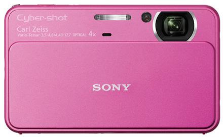 Sony CyberShot DSC-T99 růžový