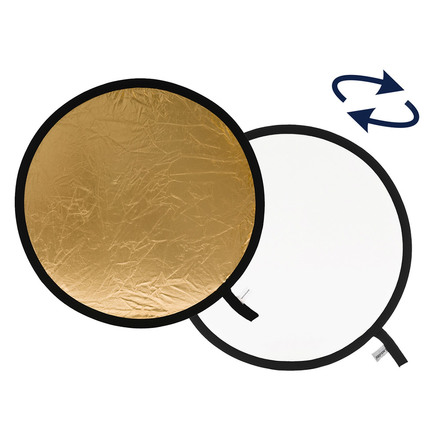 Lastolite odrazná deska kulatá 30cm zlatá/bílá