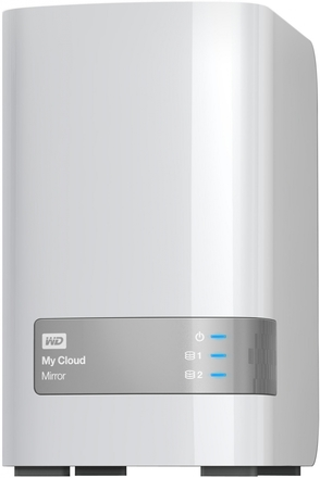 "Western Digital My Cloud Mirror 4TB, 3.5"" síťový, bílý"