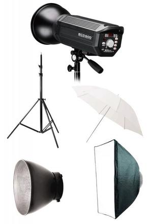 Photon Europe set Millennia New ECD 600 + Softbox 70x100