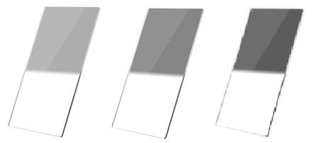 Haida set 100x150 přechodových ND filtrů PROII  0,3 + 0,6 + 0,9 tvrdý