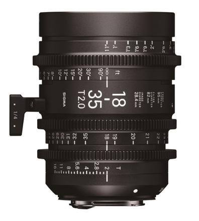 Sigma CINE 18-35mm T/2,0 pro Sony E