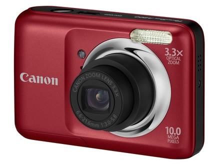 Canon PowerShot A800 červený