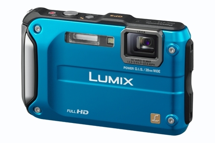 Panasonic Lumix DMC-FT3 modrý
