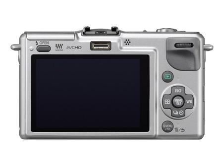 Panasonic Lumix DMC-GF2 stříbrný + 14-42 mm