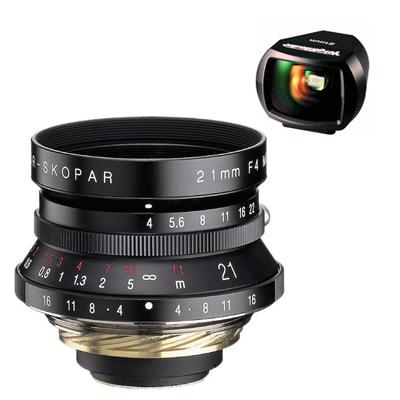 Voigtlander Color Skopar 21 mm F 4.0 černý pro M39 závit + hledáček