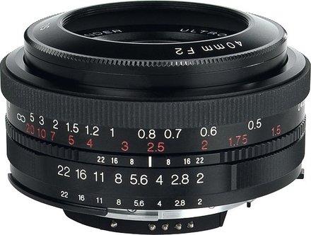 Voigtlander Ultron 40mm f/2,0 SL II Asph. AI-S pro Nikon