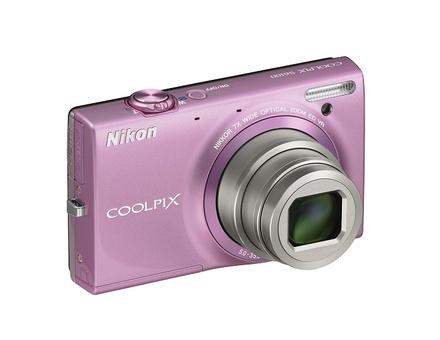 Nikon Coolpix S6100 růžový