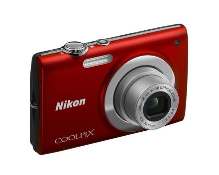 Nikon Coolpix S2500 červený