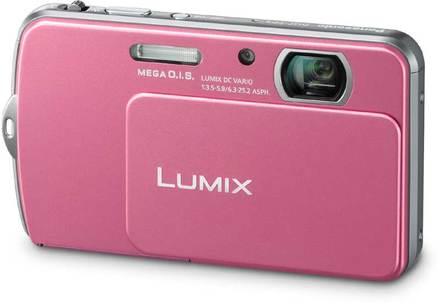 Panasonic Lumix DMC-FP5 růžový