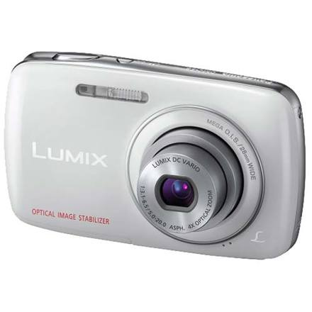 Panasonic Lumix DMC-S3 bílý