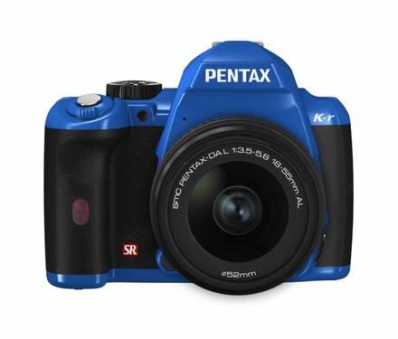 Pentax K-r + 18-55 mm modrý