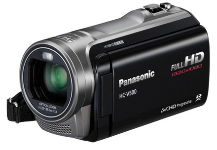 Panasonic HC-V500 černá