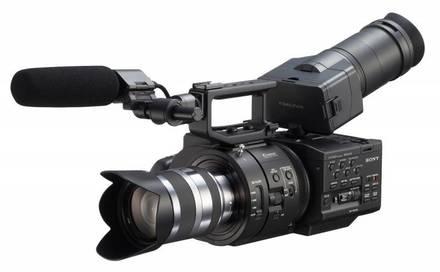Sony NEX-FS700 tělo