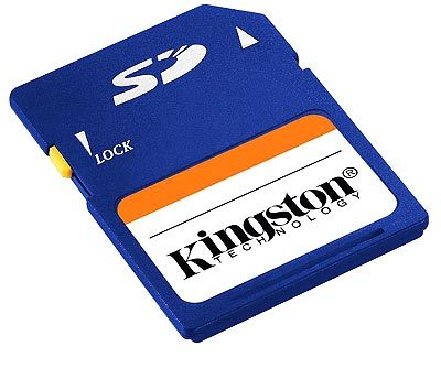 Kingston SD 256 MB
