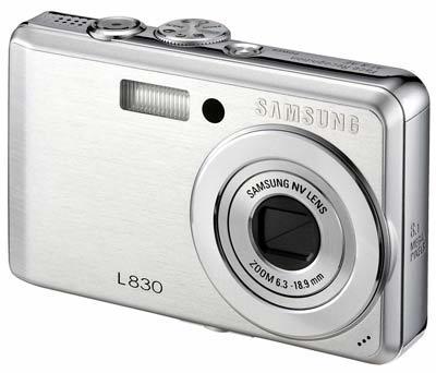 Samsung L830 stříbrný