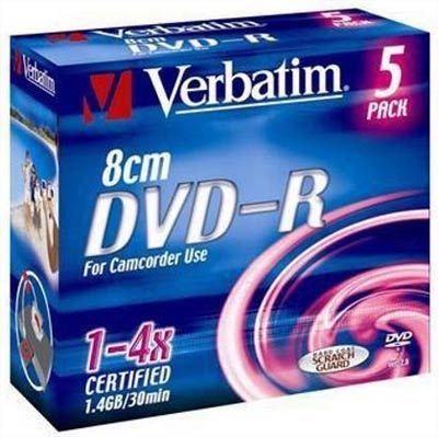 Verbatim 8 cm DVD-R 1,4 GB 1 ks