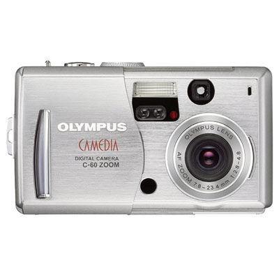 Olympus C-60 Zoom + xD 256 MB + Zoner studio software