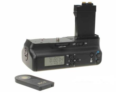 Aputure bateriový grip s displejem BP-E8II (Canon BG-E8)