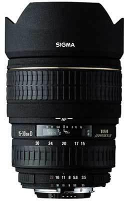 Sigma 15-30mm F 3,5-4,5 EX DG ASPHERICAL IF pro Pentax + utěrka Sigma zdarma!