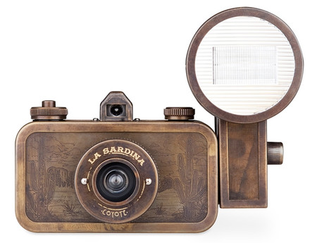 Lomography La Sardina Metal Edition - Coyote