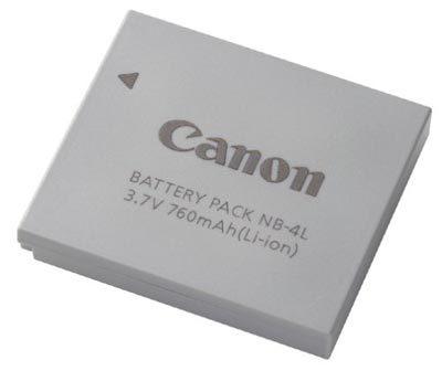 Canon akumulátor NB-4L