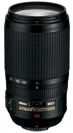 Nikon 70-300mm f/4,5-5,6 G AF-S Zoom Nikkor IF-ED VR