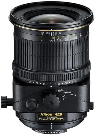 Nikon 24mm f/3,5D ED PC-E Micro