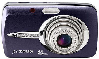 Olympus Mju 600 Digital modrý